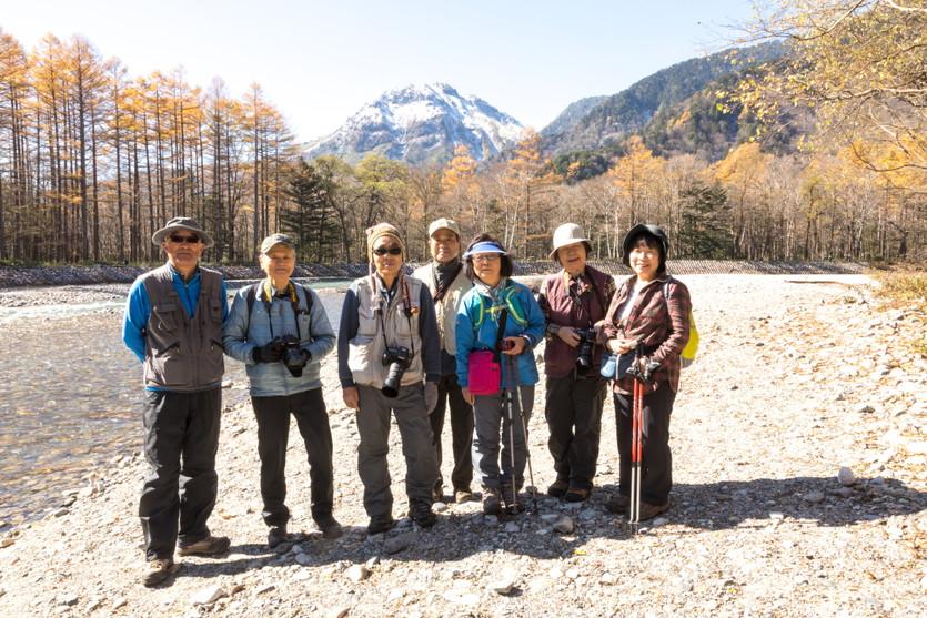 2017.10.29~31 「上高地自然写真教室 ~カラマツ黄葉を撮る~」