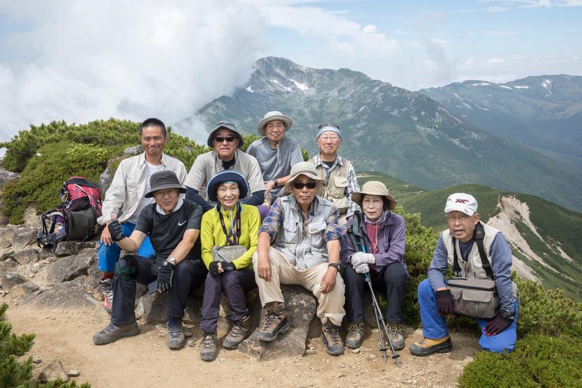 2018.8.3~9 「盛夏の黒部五郎岳 ~黒部の山と花を撮る~」