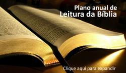 Plano anual de leitura da Bíblia