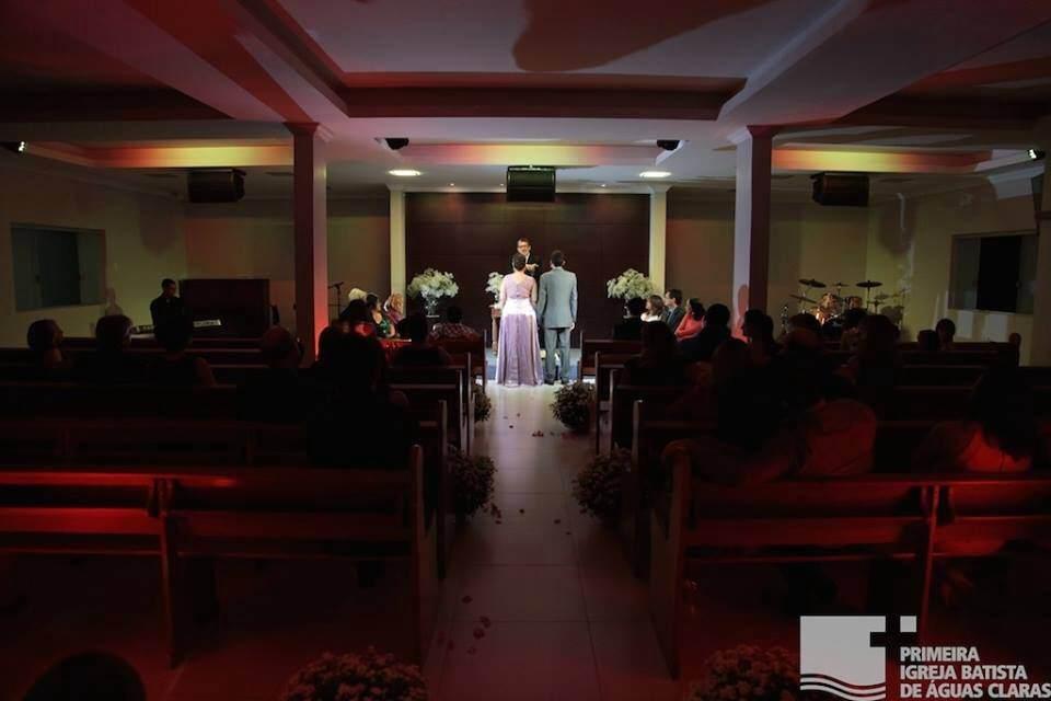Iluminacao casamento