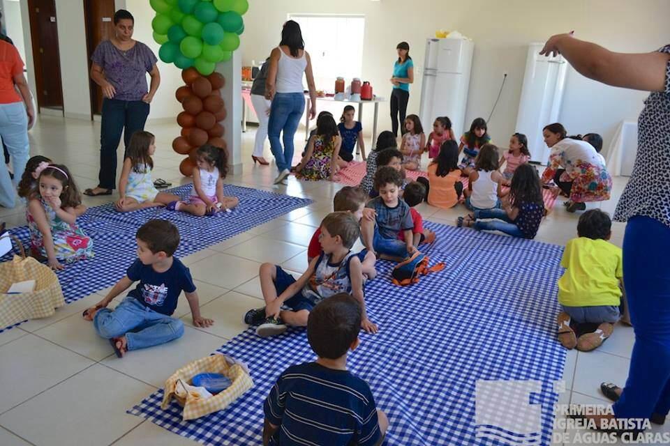 Festa infantil no Salão de Eventos