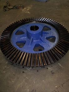 66 inch raymond mill gear after.jpg