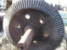 50 inch raymond mill gear before.JPG