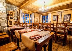 Restaurant la Sachette, un des restaurants typiques des Brévières