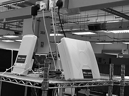 Amidst the 4th industrial revolution, Whizpace TV White space devices are used to form the backbone network in a US NMC to enable the local WirelessLAN network. More than 20 TVWS devices are used to cover 60,000 m2 of production floor space.