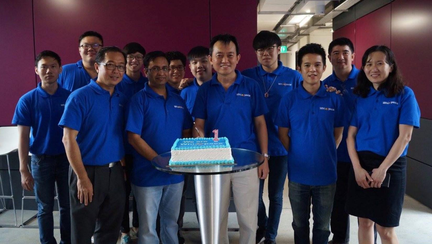 Whizpace celebratory cake