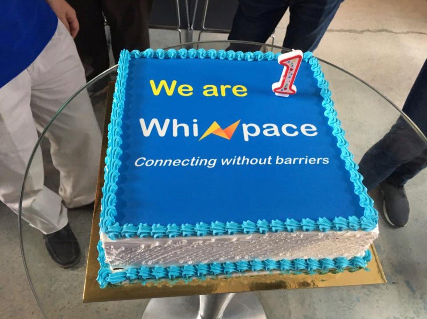 Whizpace cake