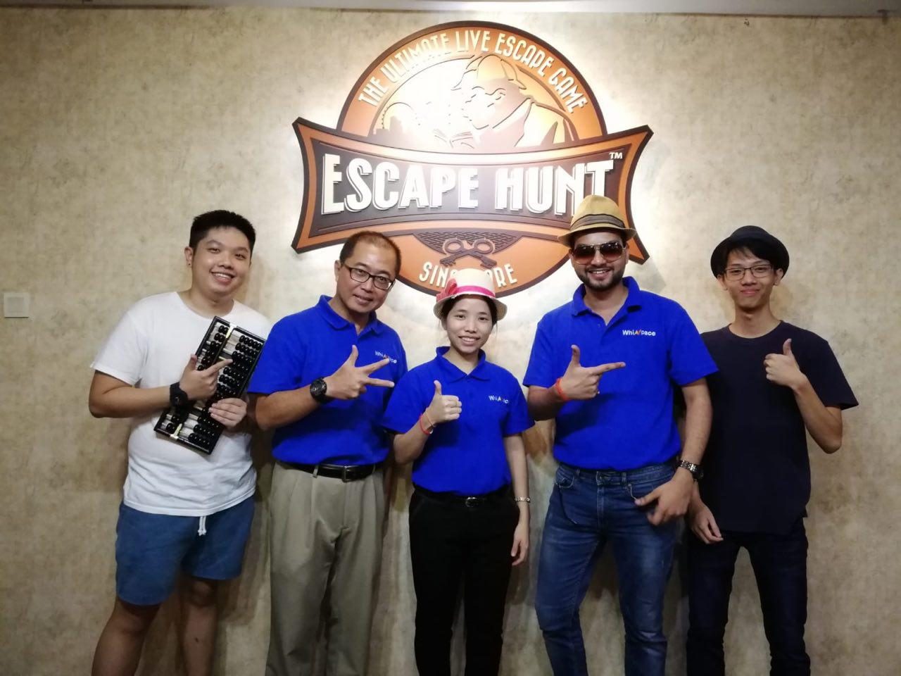 Escape hunt outing