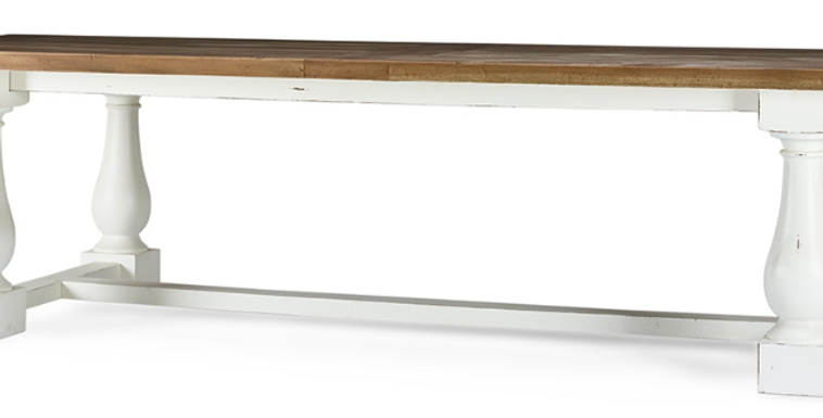 Hemmingway Dining Table 120''