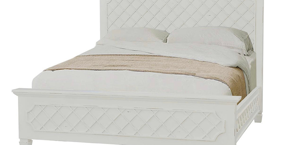 Flat Top Dauphine Bed King