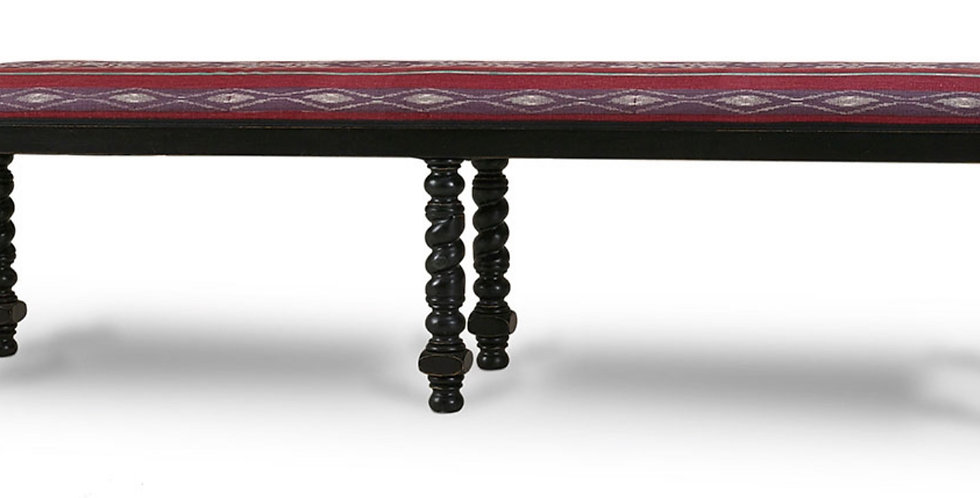 Regency Barley Twist Bench