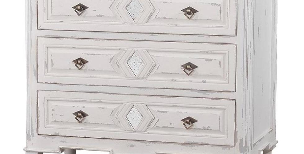 Robertson 3 Drawer Small Dresser w/ Mirror A