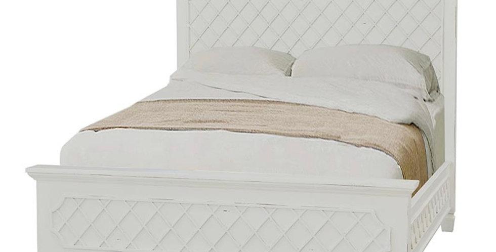 Flat Top Dauphine Bed Queen