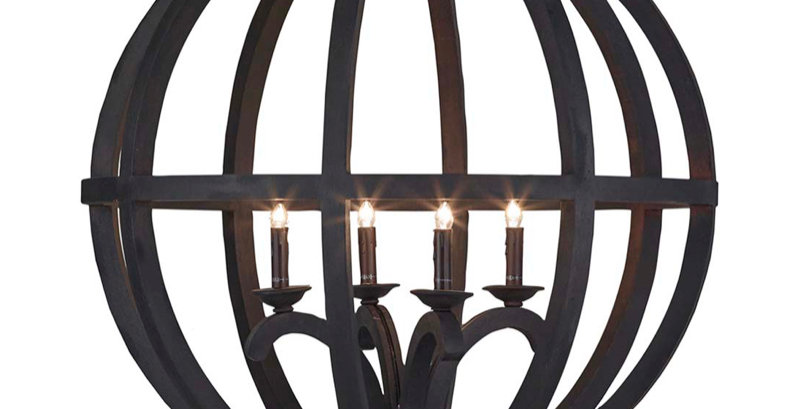 Axel Orb Chandelier Large
