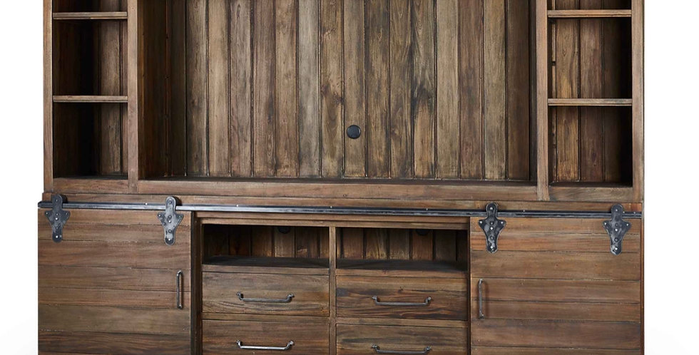 Sonoma Open Top� Media Cabinet / 80'' TV