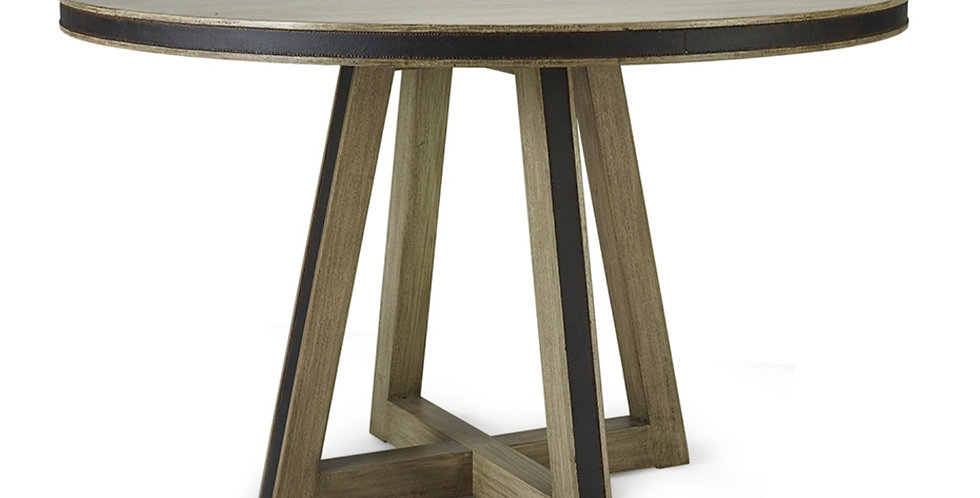 Maddox Dining Table w/ Tin Inlay