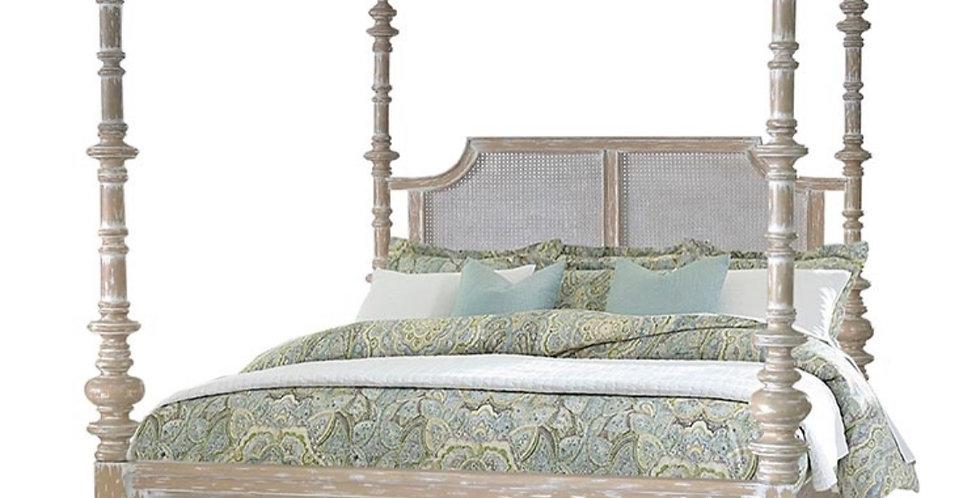 Savannah Rattan  King Bed
