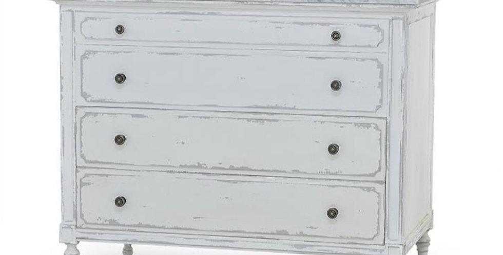 Carrington Single Vanity w/ Sink & Marble top