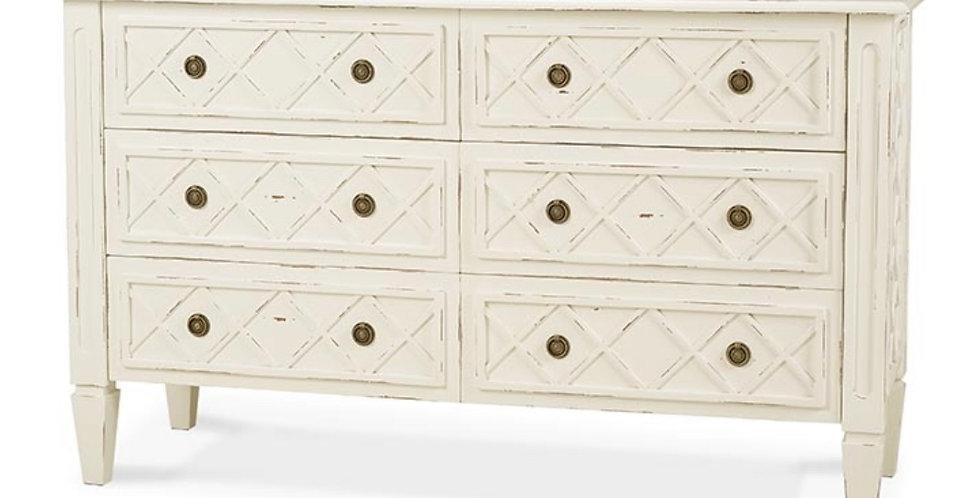 Dauphine 6 Drawer Dresser