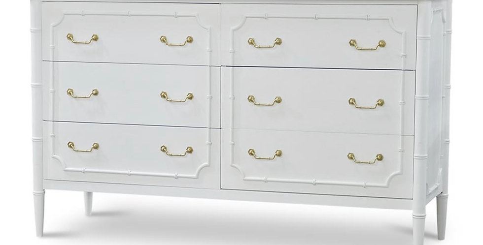 Chelsea Large 6 Drawer Dresser
