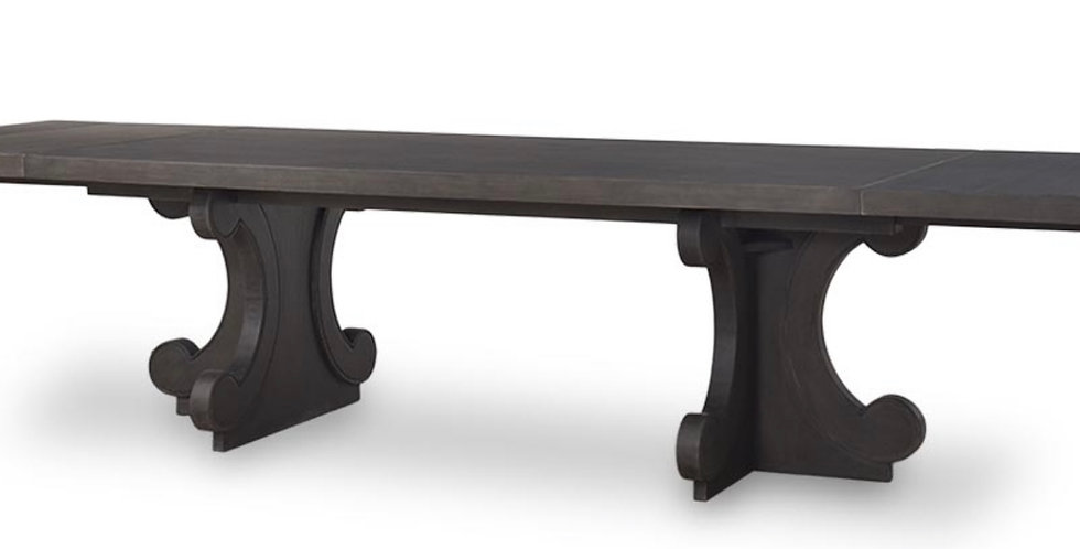 Romulus Extending Dinining Table 106'' extends to 145''