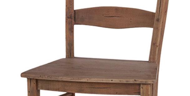 Peg & Dowel Ladder Back w/ Wooden Seat