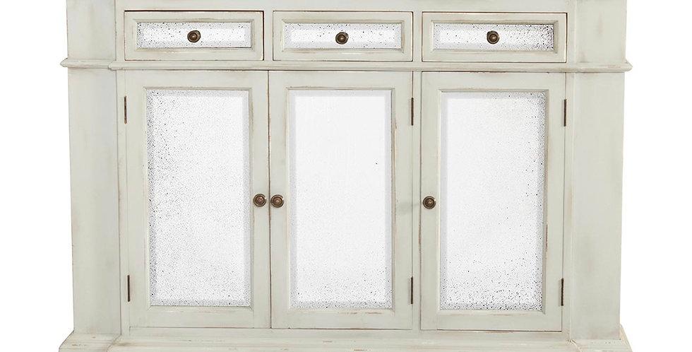 Shabby 3 Door Narrow Sideboard