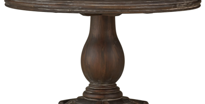 Drake Round Pedestal Table 48''