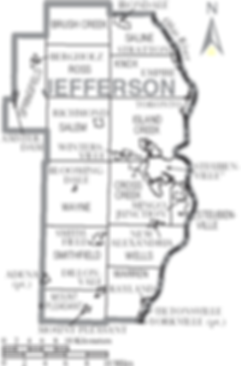 Jefferson County Maps