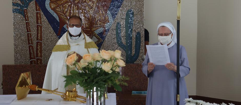 Dia dos Enfermos com Bênção do Santíssimo em todos os setores do HMSVP