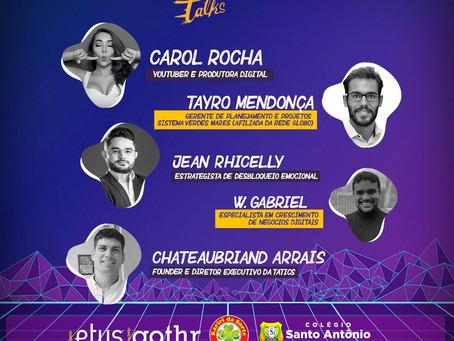 DED talks Ceará, discute marketing digital em evento online com palestrantes renomados.