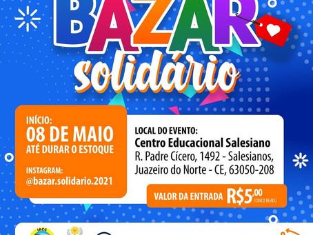 Dica: Você que deseja economizar não perca o Bazar Solidário