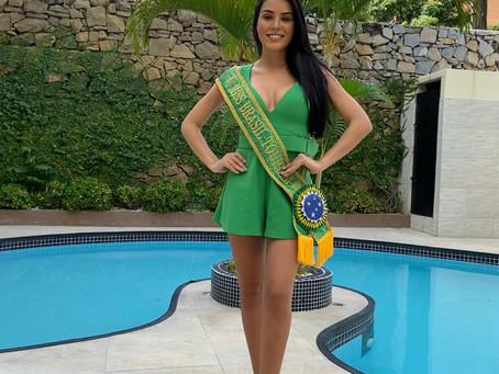 Miss Ceará Earth 2021 - Cariri sendo lindamente representado.