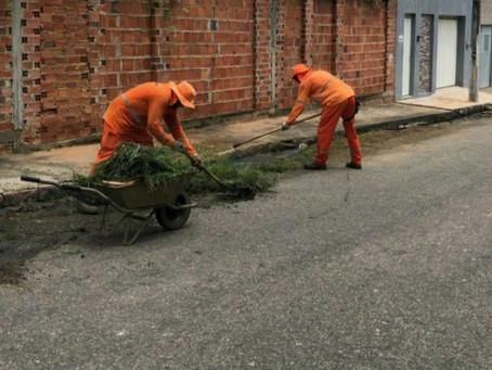 Semasp promove mutirão com ações de capinagem e poda de árvores