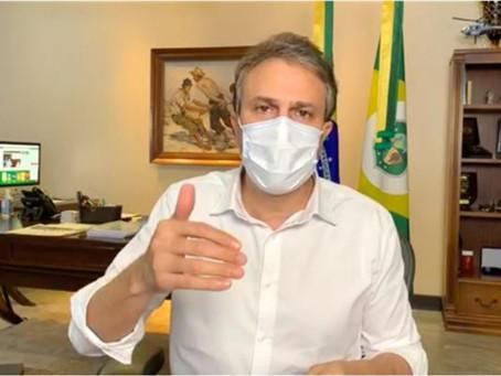 Camilo indica que vacina que chegará ao Ceará deve ser da Oxford com Astrazeneca