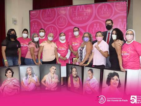 """Abertura do Outubro Rosa do Hospital São Vicente. """" Um Toque pra Vida"""""""