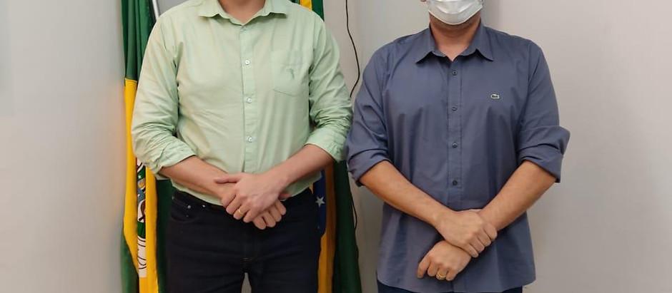 Deputado Estadual Rafael Branco se reúne com Gledson Bezerra visando destinar recursos para JN