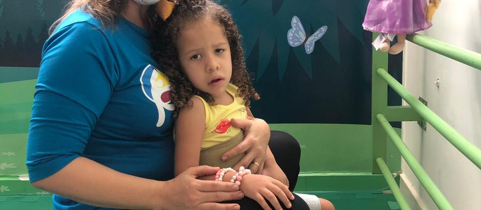 Menina que mora no Cariri é o 1° caso do Brasil com Síndrome de Andermann