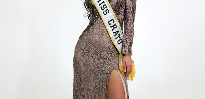 Patricia Santos representará a Miss Crato CNB 2021.