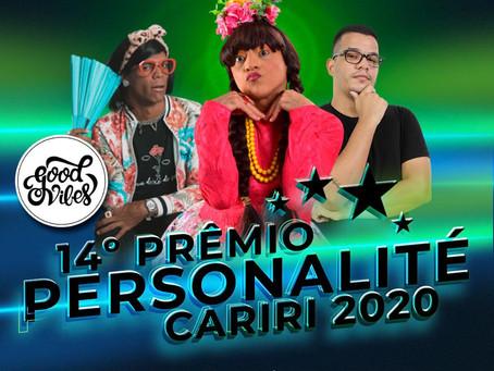 Prêmio Personalité Cariri 2020 Confirmado!