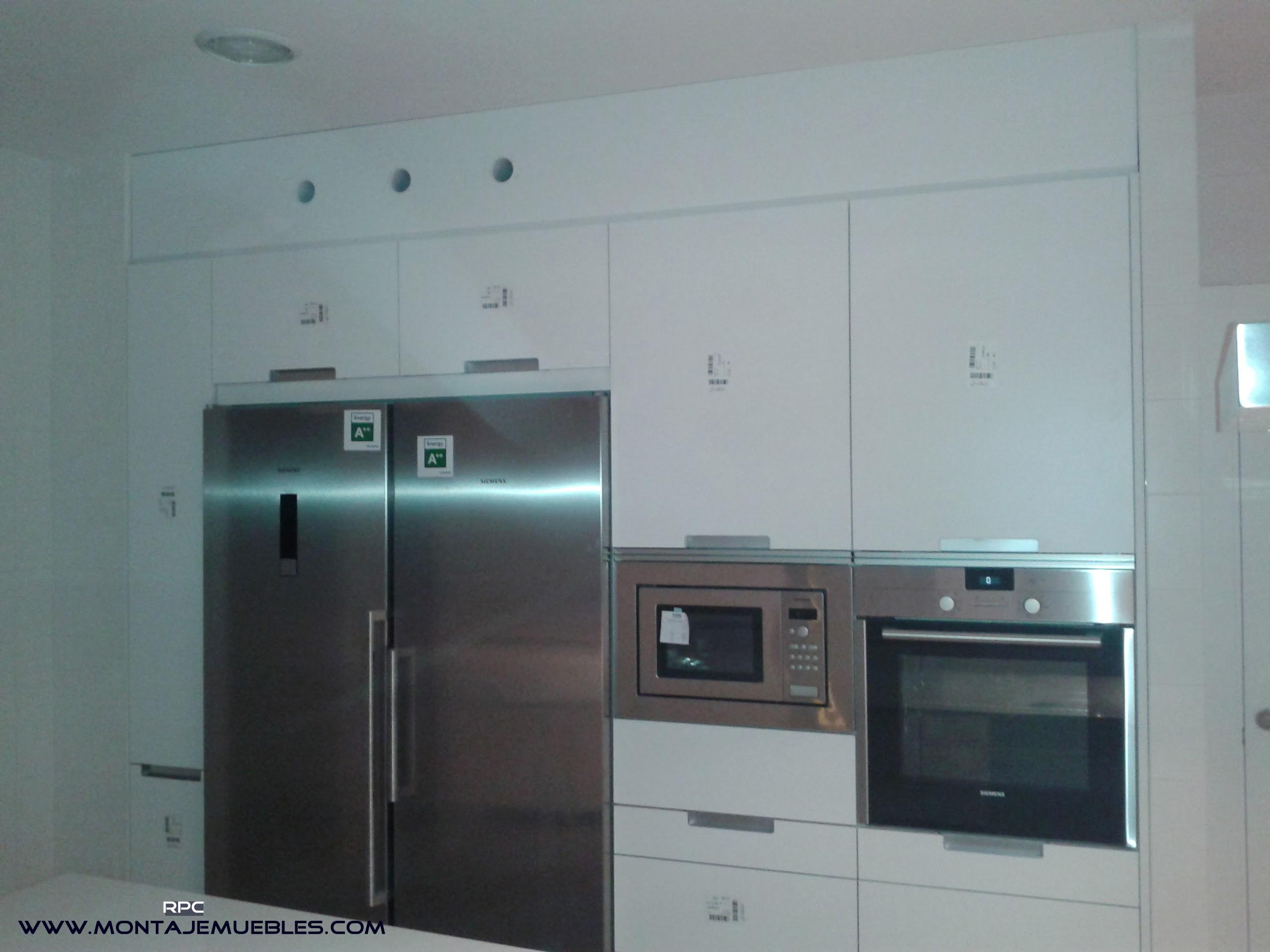 Montaje muebles cocina y armarios empotrados