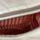 "Thumbnail: Crossbag "" Sanddüne V"" rot/weiß /beige"