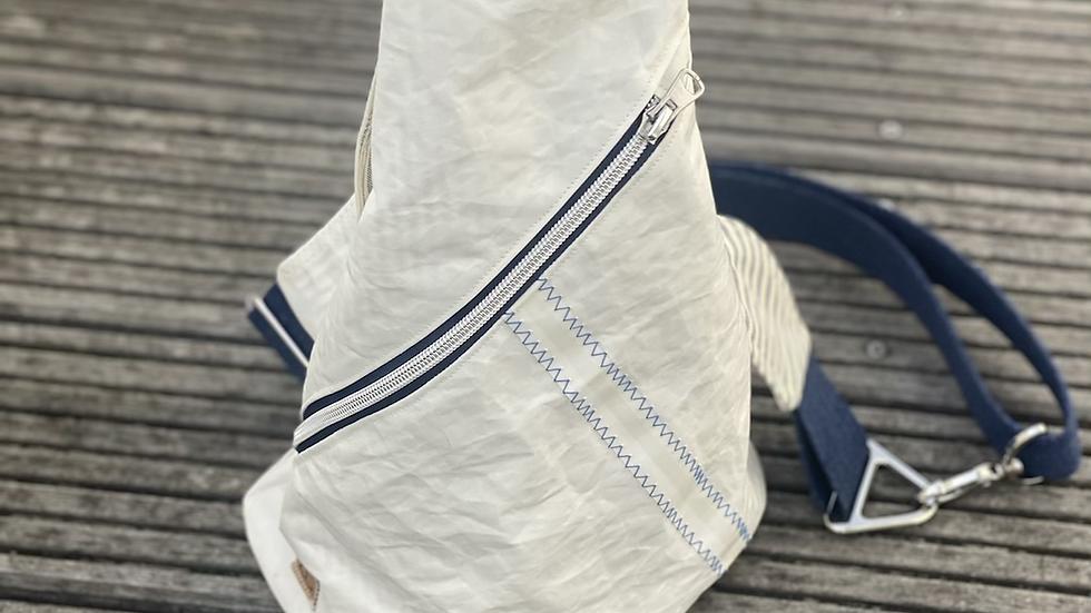 "Crossbag ""Sanddüne I"" Jeans/blau/creme"