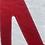 "Thumbnail: Outdoorkissen ""Salzwiese IV"" rot"