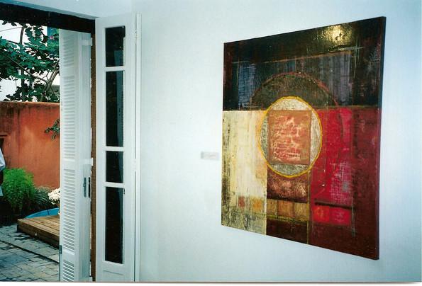 Exhition Screens of Santiago - Delma Godoy Space