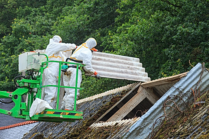 DC Demo Solutions Asbestos Roof Removal