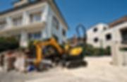 DC Demo Solutions Small excavator excavation