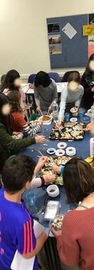 ארוחת סושי סדנאת אמן חנוכה 2018