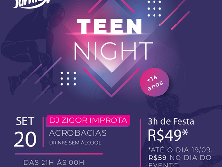 Big Jump realiza a primeira edição do Teen Night em Salvador