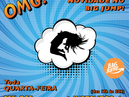 Quarta-feira é dia de acrobacias no Big Jump